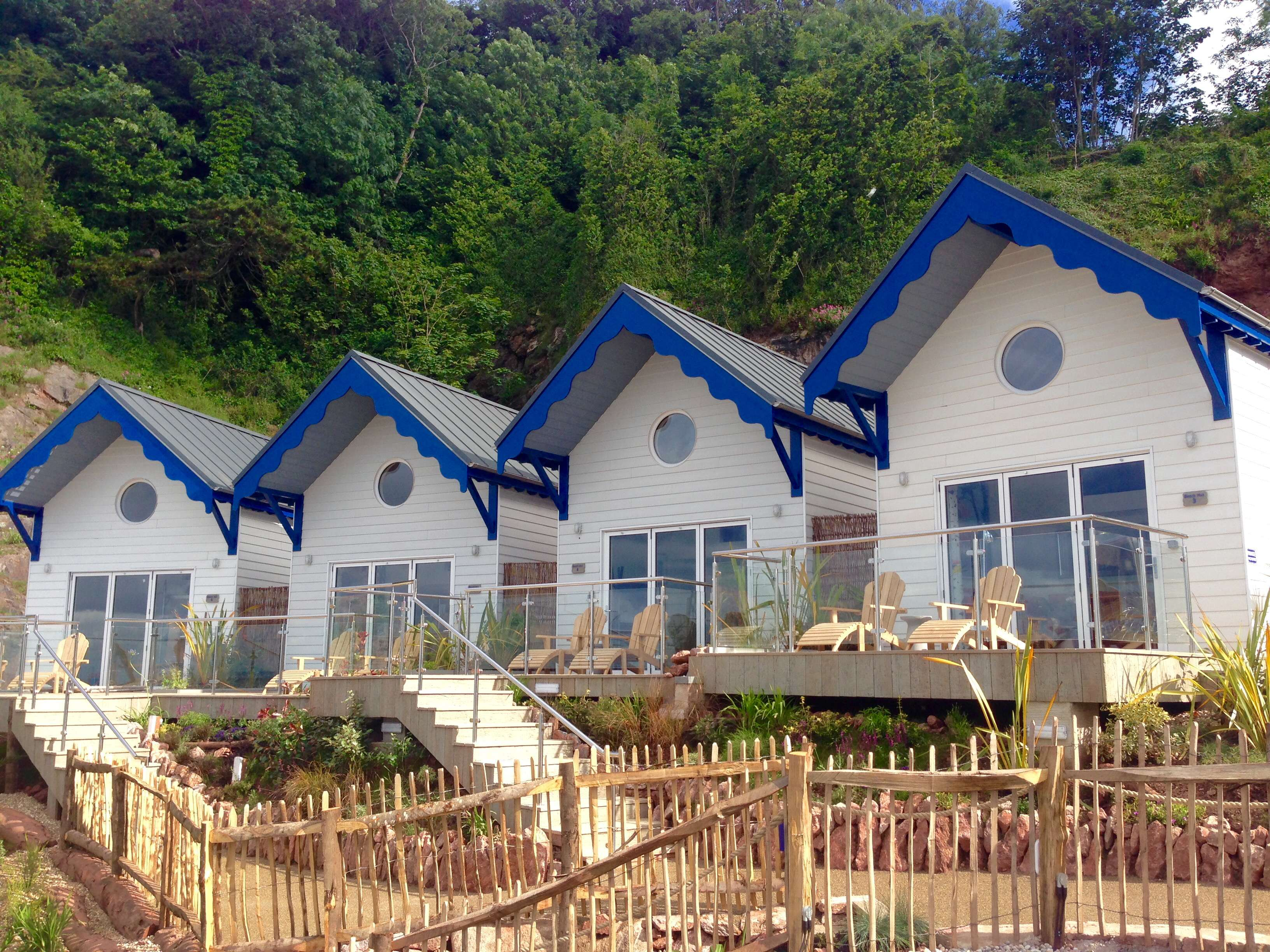Our New Beach Huts