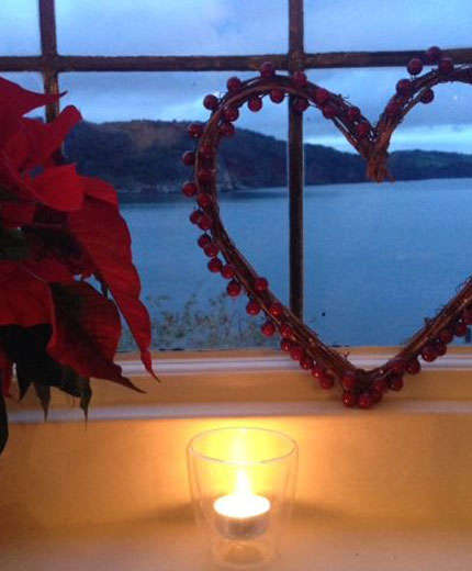 Romantic Festive Twilight Spa Hideaway for Two